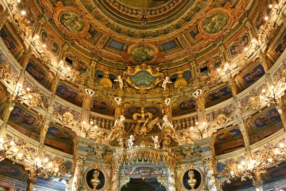 While the theatre pre-dates the composer, the culture of the town of Bayreuth is particularly synonymous with Richard Wagner, who lived there for the final decade of his life and is the subject of the annual Bayreuth Festival at the town's Festspielhaus. For more details on upcoming events at The Margravial Opera House, visit the venue's website.