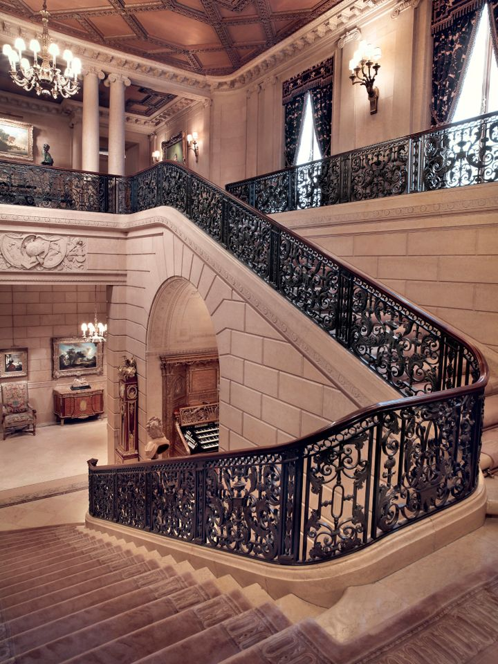 The Grand Staircase, The Frick Collection, New York