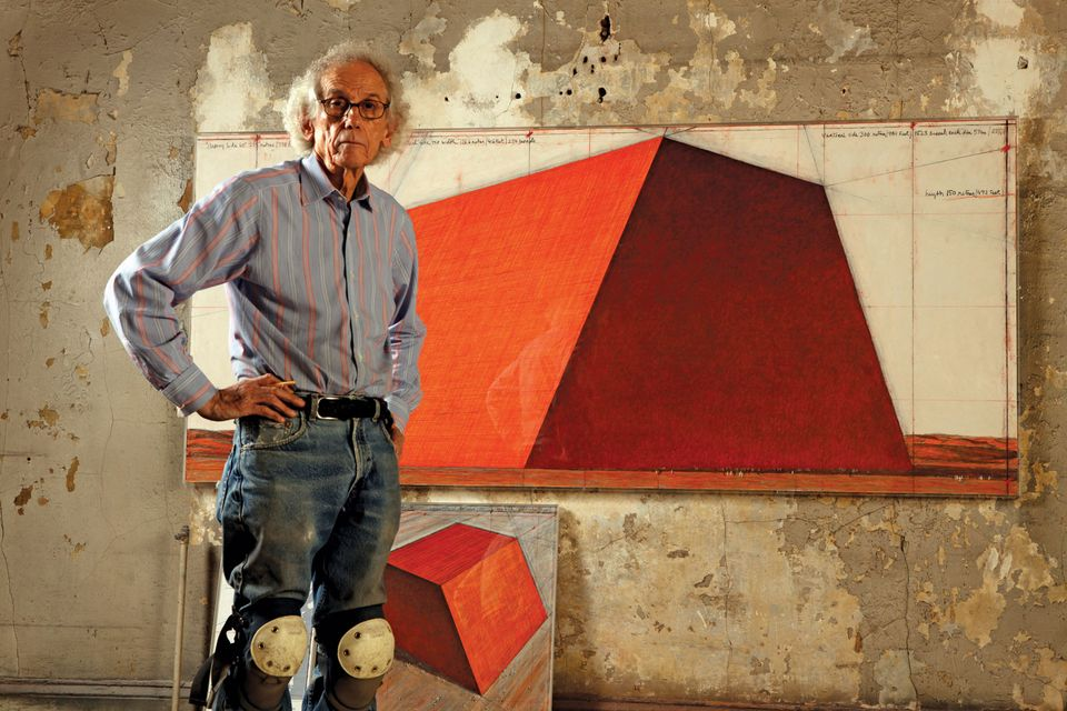 Christo's latest project is inspired by the 'mastaba' constructions found in Mesopotamia 7,000 years ago