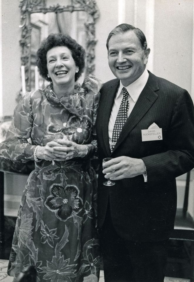 David and Peggy Rockefeller in 1973