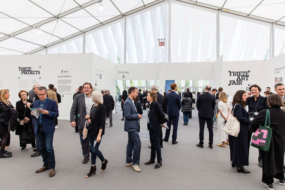 Last year's edition of Frieze New York