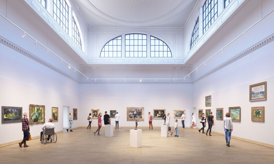 Large £5m-plus grants, of the kind awarded to the Courtauld, are not available this year