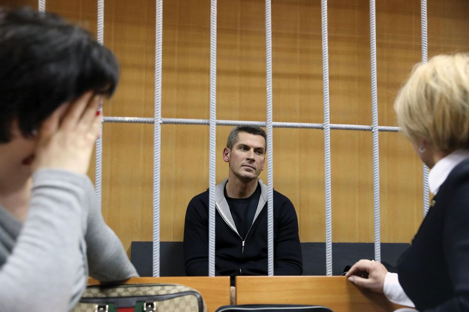 Ziyavudin Magomedov, charged with embezzlement, has been told that he must stay in prison until his trial