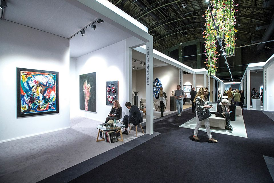 Last year's edition of Tefaf New York Spring at the Park Avenue Armory
