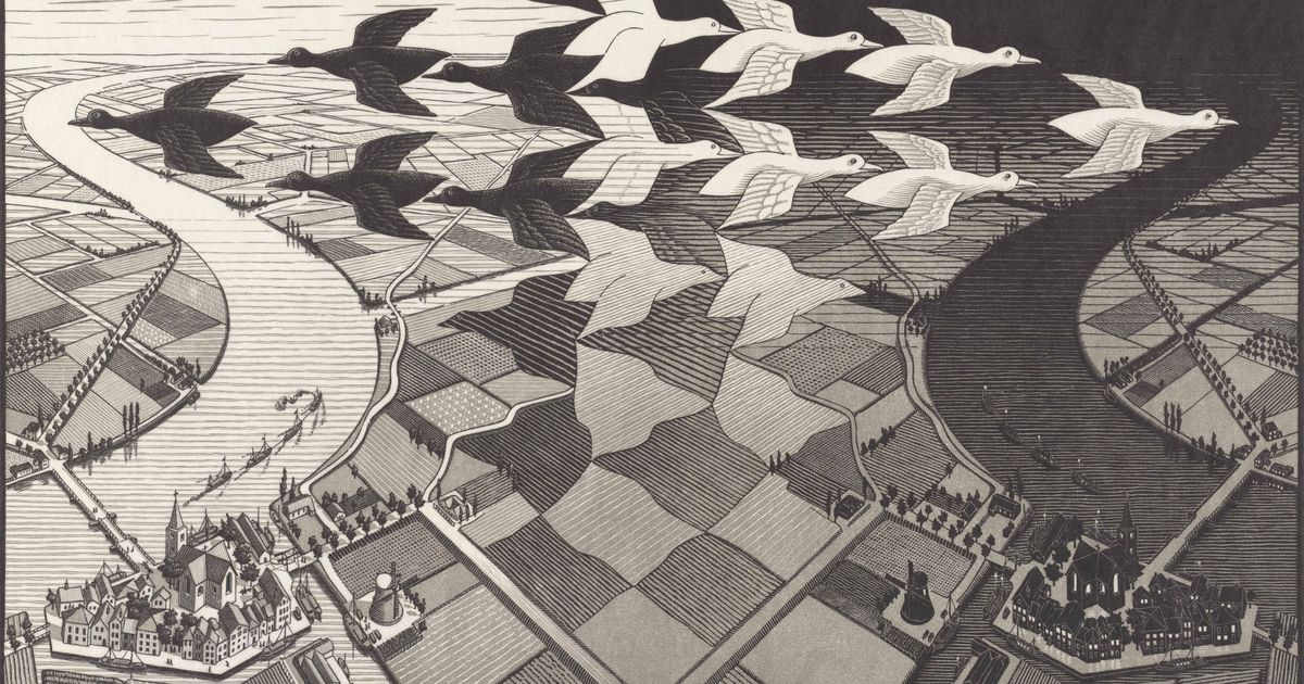 Escher's love affair with landscape explored in home town show