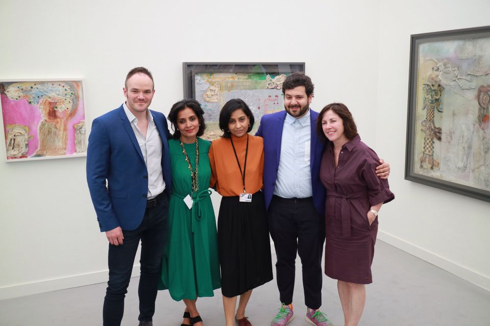 The Mumbai-based gallery Jhaveri Contemporary won the Frieze stand prize