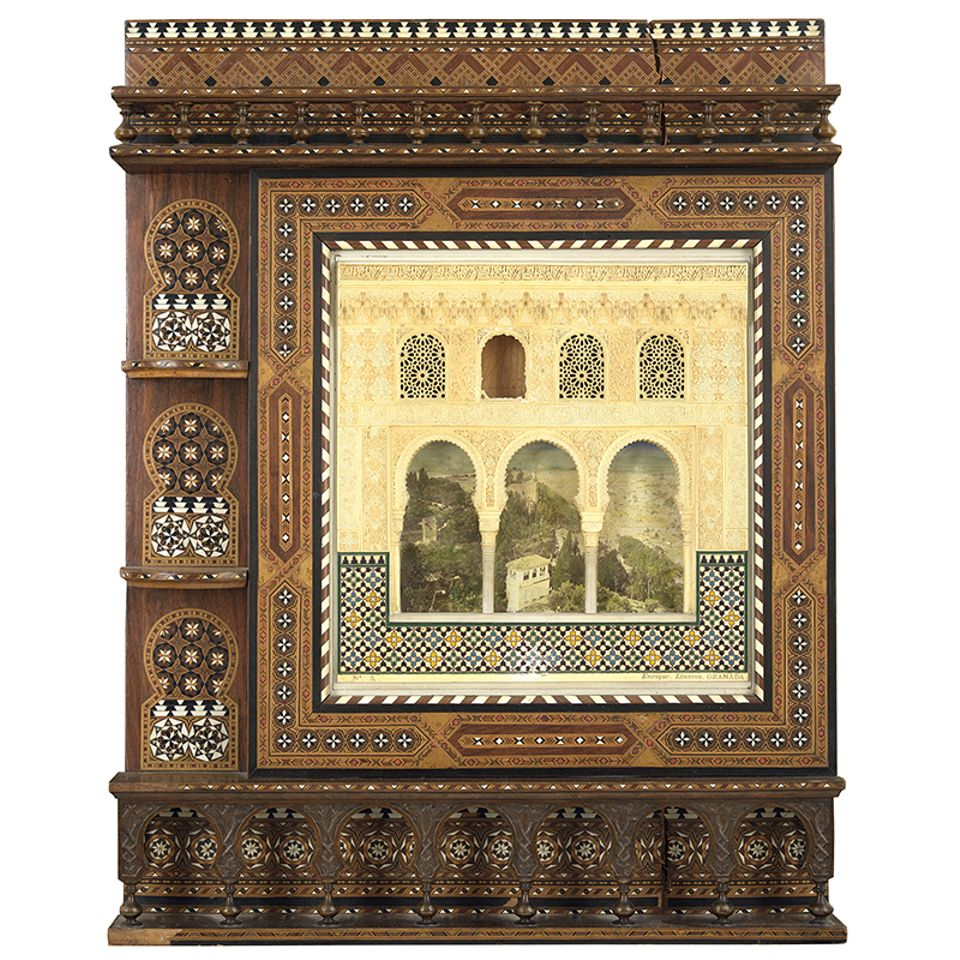 Enrique Linares, Maquette of the façade of the of the Alhambra, late 19th century