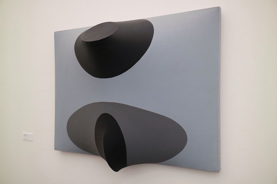 Zilia Sánchez, Topologica Erotica, 1982, shown by Galerie Lelong at Frieze New York 2018