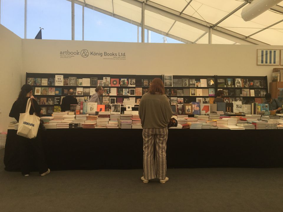 Bookstore at Frieze New York
