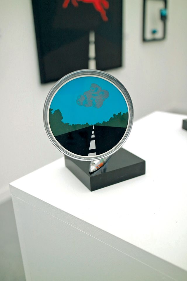 Allan d'Arcangelo,  Side-View Mirror (1966)