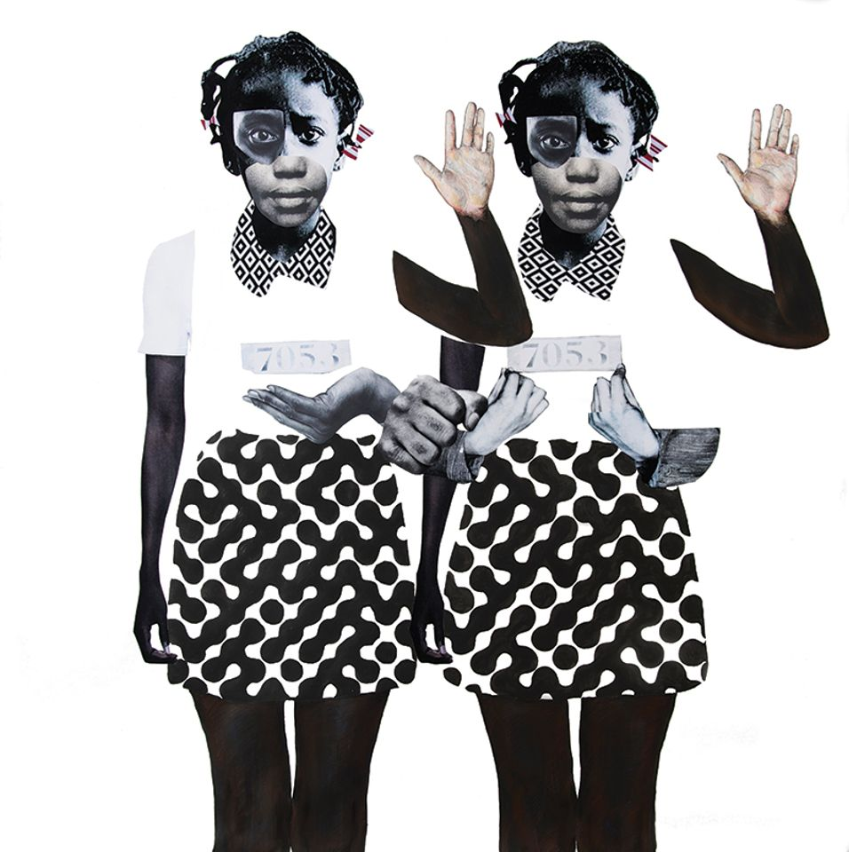 Deborah Roberts's Political Lambs in a Wolf's World (2018) will be in the show
