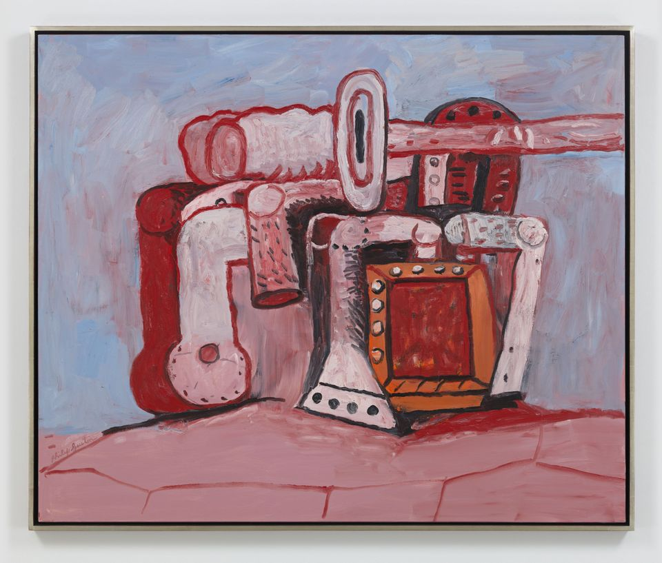 Philip Guston, Forms  on  Rock  Ledge  (1979)