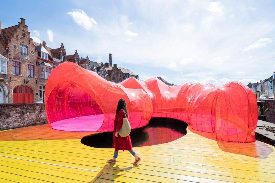 The Selgascano Pavilion at the Bruges Triennial