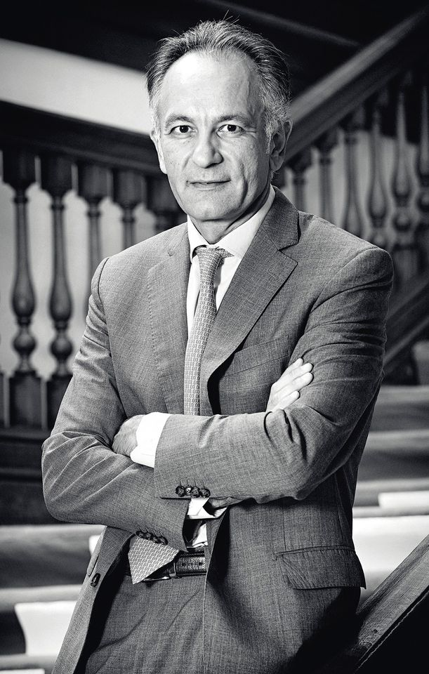 Guillaume Cerutti, the chief executive of Christie's