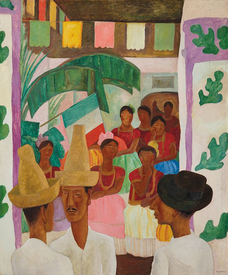 Diego Rivera painted The Rivals (1931) for David's mother, Museum of Modern Art co-founder Abby Aldrich Rockefeller. It sold for $9.8m, a record for a Latin American painting