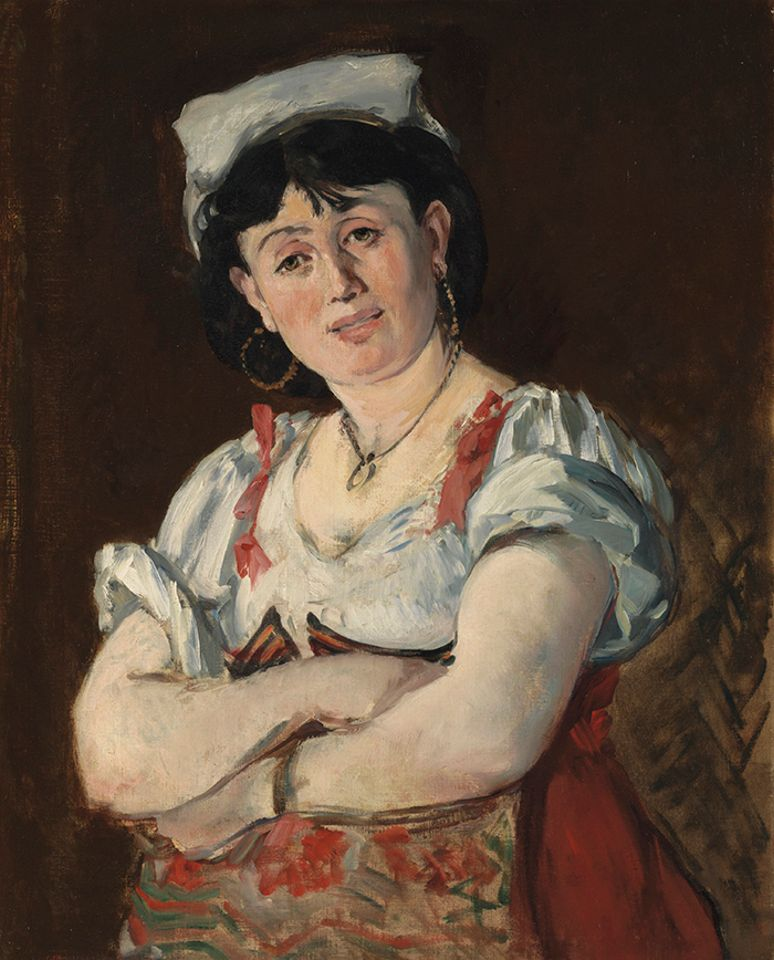 Edouard Manet's L'Italienne (1860) was pursued by several bidders up to $11m