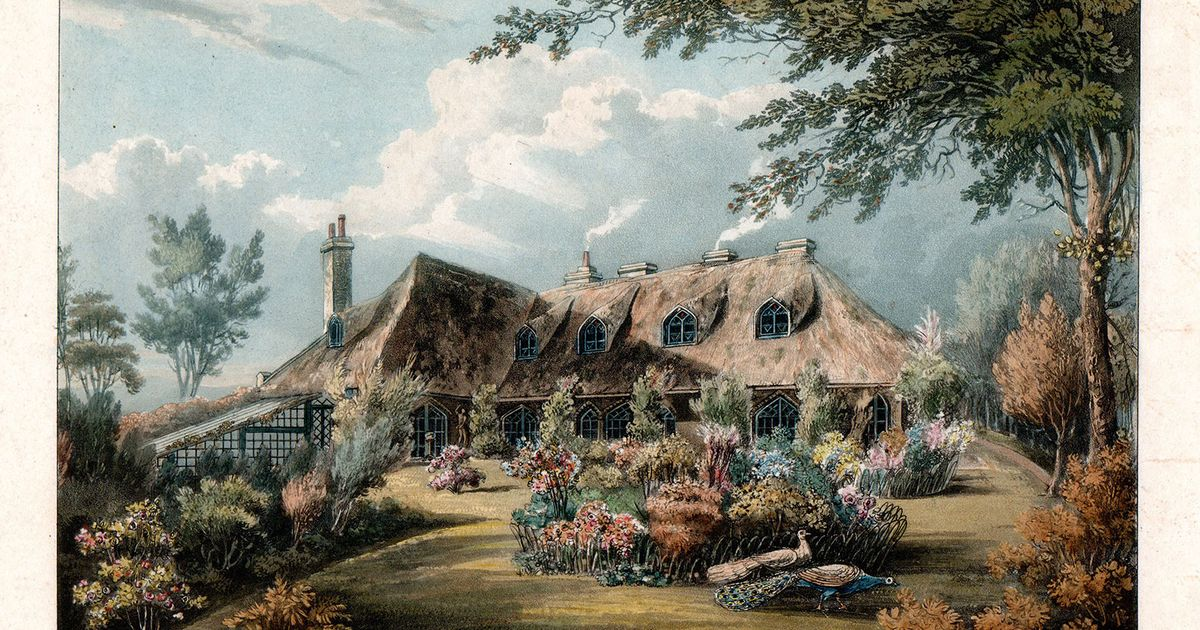 Cottaging—an acquired taste? New book looks at England's once-popular Cottage Orné style