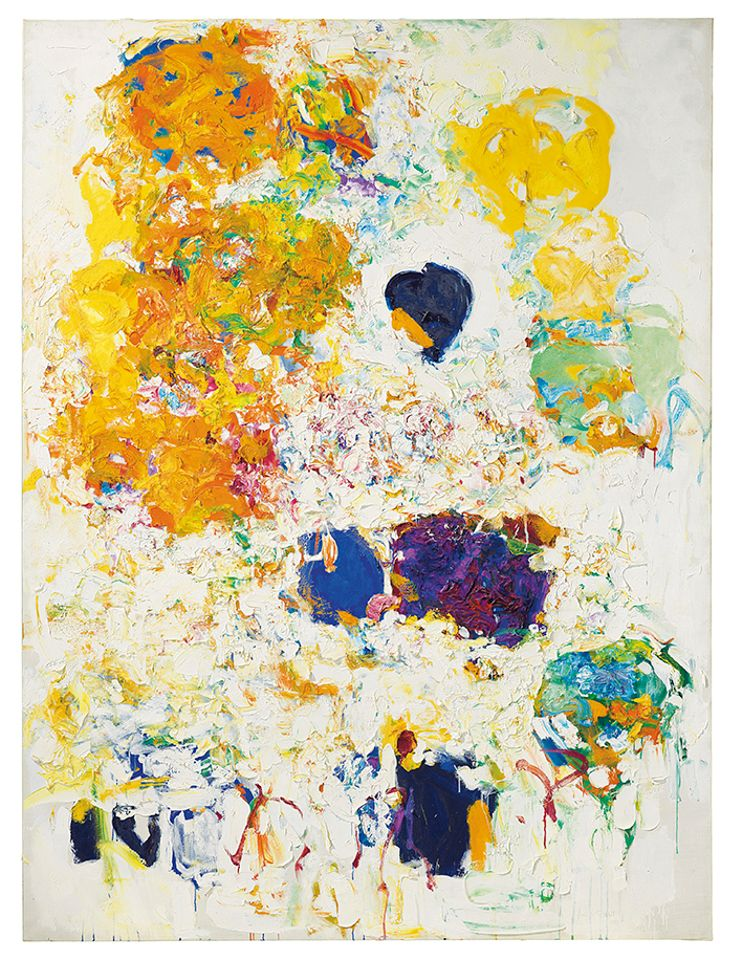 Joan Mitchell's Blueberry (1969), sold at Christie's for $16.6m