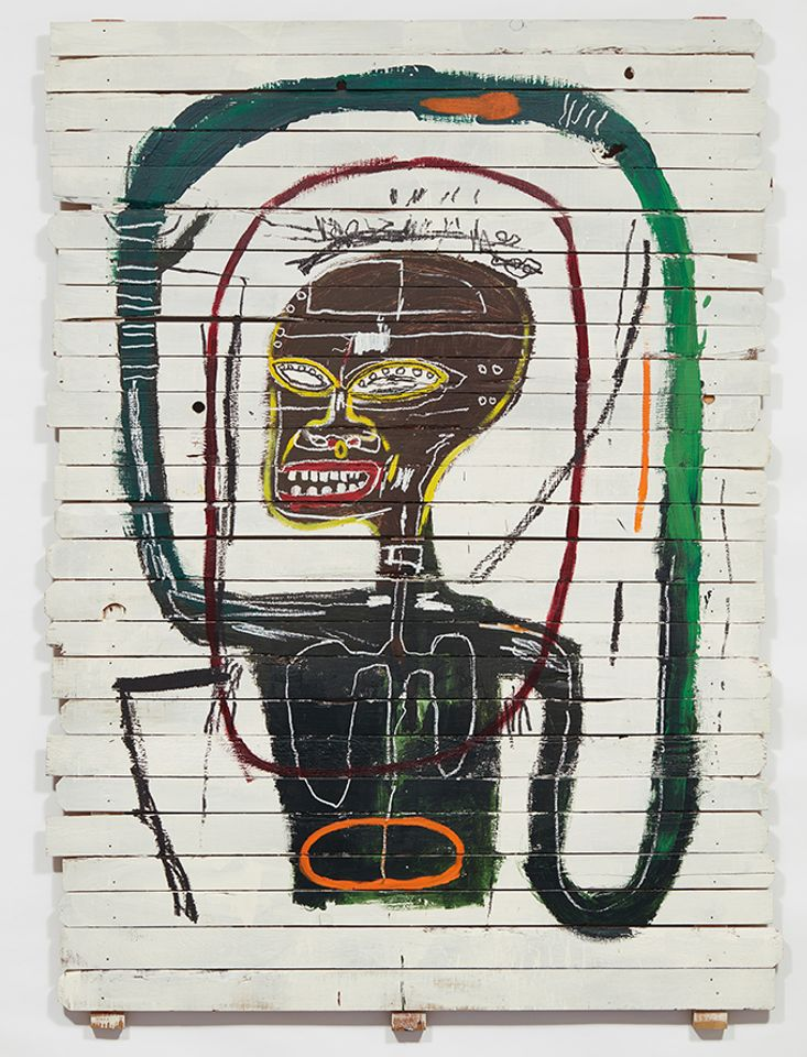 Jean-Michel Basquiat's Flexible (1984), sold for $45.3m at Phillips
