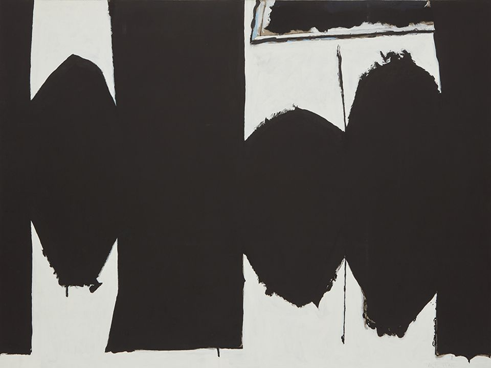 Robert Motherwell's At Five in the Afternoon (1971), sold for $12.7m at Phillips