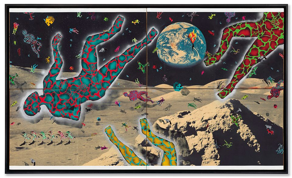David Wojnarowicz's Science Lesson (1982-83), sold for $708,500 at Christie's