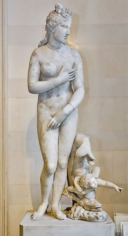 Beauty personified:  the Gatchina Venus will receive treatment