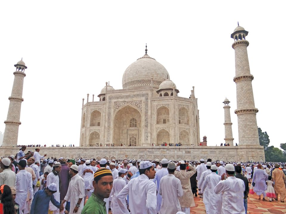 Some Hindu nationalists claim that a Muslim emperor razed one of their temples to make way for the Taj Mahal