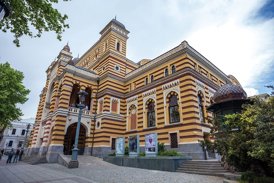 In the 19th century, operas came hot from first performances in Western Europe to Tbilisi's opera house