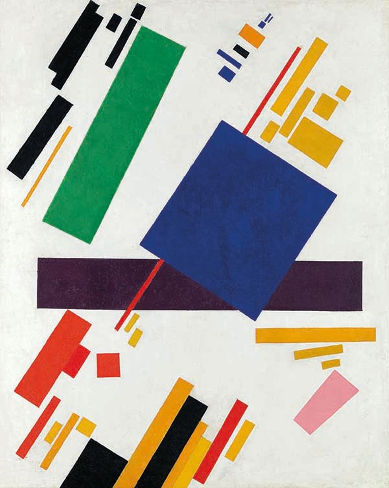 Kazimir Malevich's Suprematist Composition (1916) set a record at Christie's