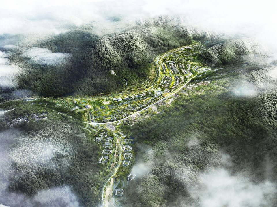 A rendering of the Valley XL development in Xinglong