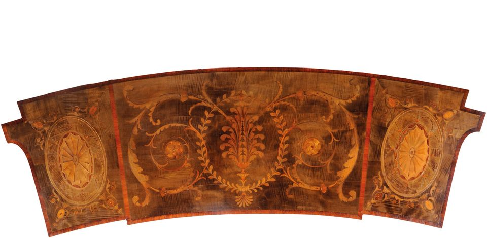 Thomas Chippendale Sr, top of the Pier table from the Circular Dressing Room at Harewood House, around 1772