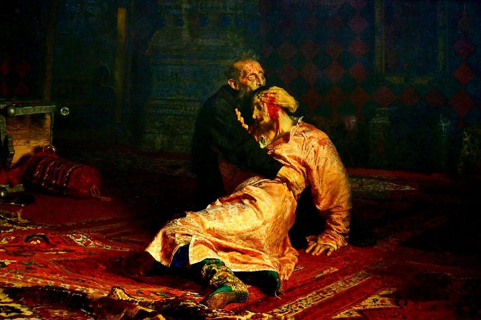 Ivan the Terrible and His Son Ivan (1581)