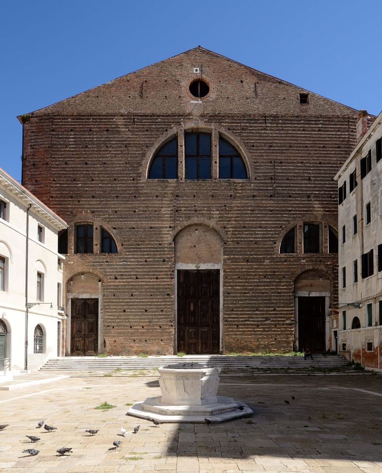 The Church of San Lorenzo in Venice, the new home of Ocean Space from summer 2019