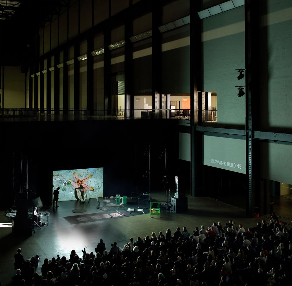 Joan Jonas's Moving off the Land: Oceans, Sketches and Notes in Tate Modern's Turbine Hall