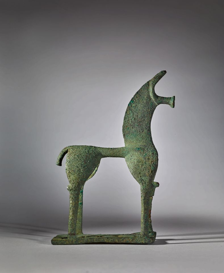 The ancient bronze horse was withdrawn from sale after Greece demanded its return, but now Sotheby's is fighting back