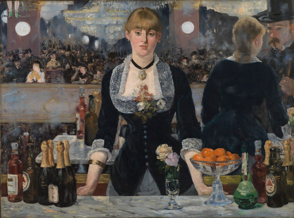Edouard Manet's A Bar at the Folies-Bergère (1882) is among the rare loans heading to Paris in spring 2019