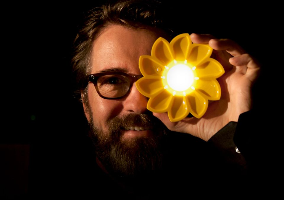 Olafur Eliasson, the co-founder of Little Sun