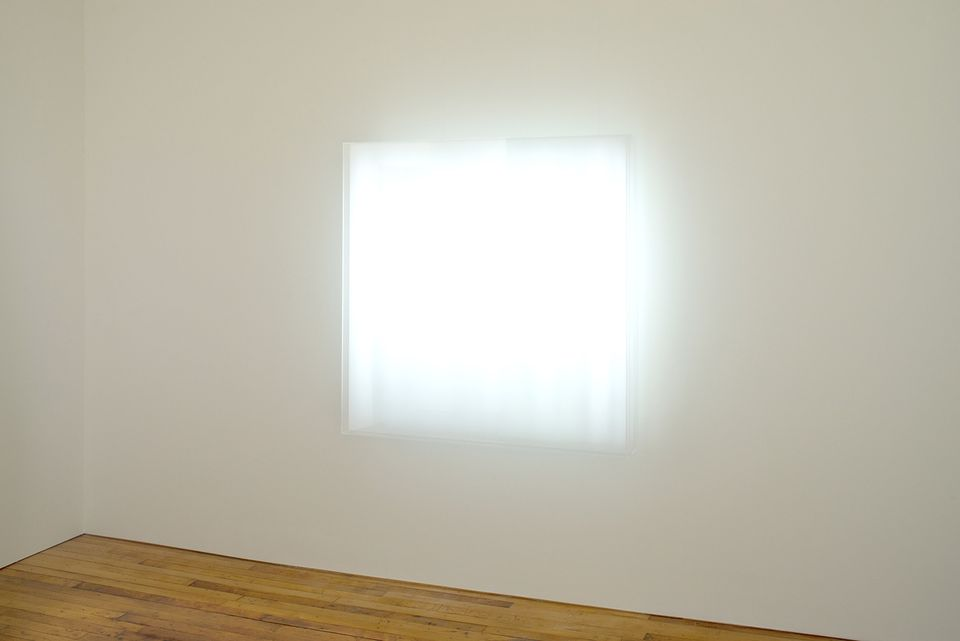 Mary Corse, Untitled (Electric Light) (1968/2018)