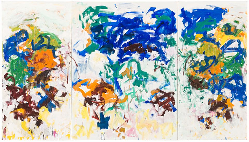 Joan Mitchell, Bracket (1989)