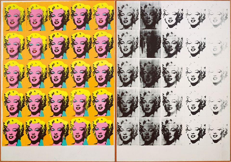 Andy Warhol's Marilyn Diptych (1962)
