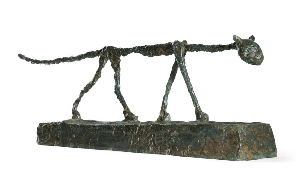 Alberto Giacometti, Le Chat, sold at Sotheby's