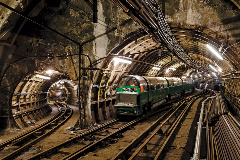 The Mail Rail, converted into a visitor attraction