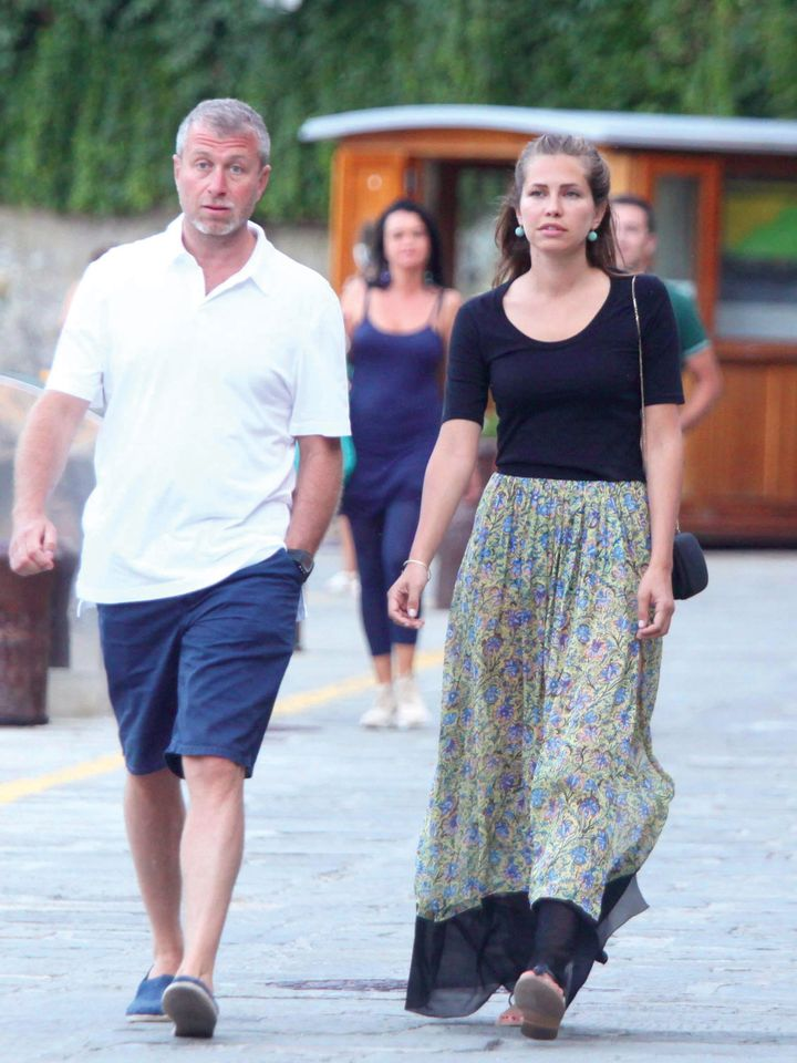 Abramovich and Zhukova