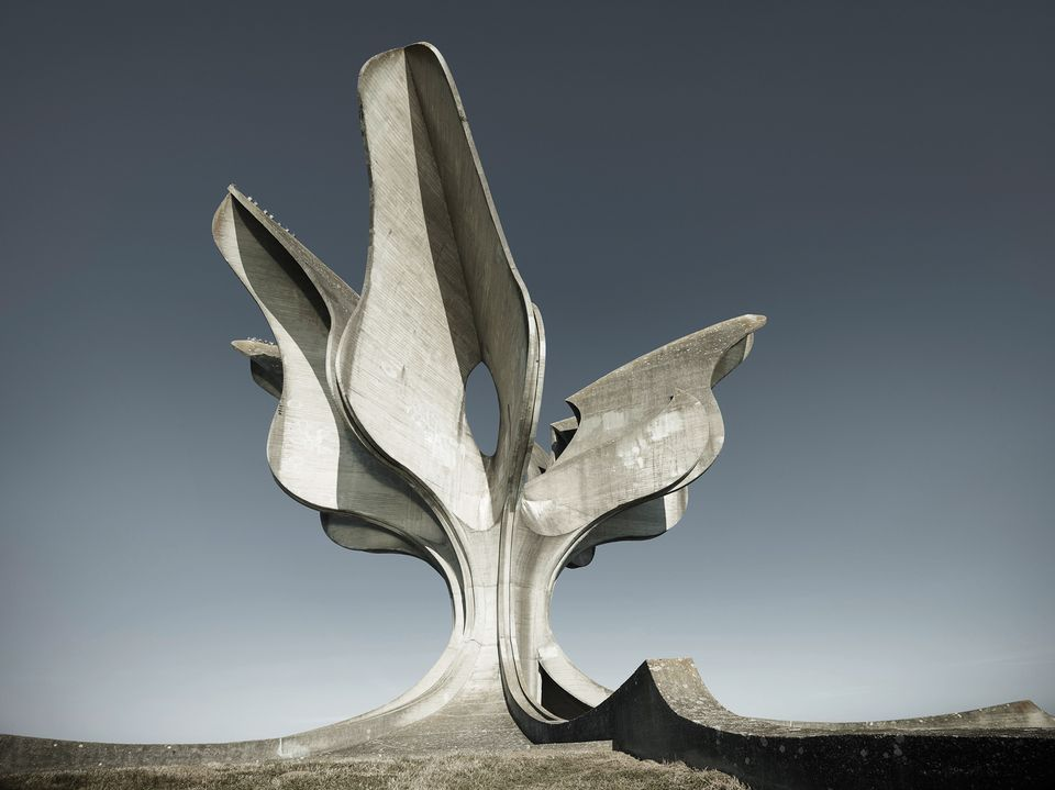 The Jasenovac Memorial by Bogdan Bogdanović's (1959-66)