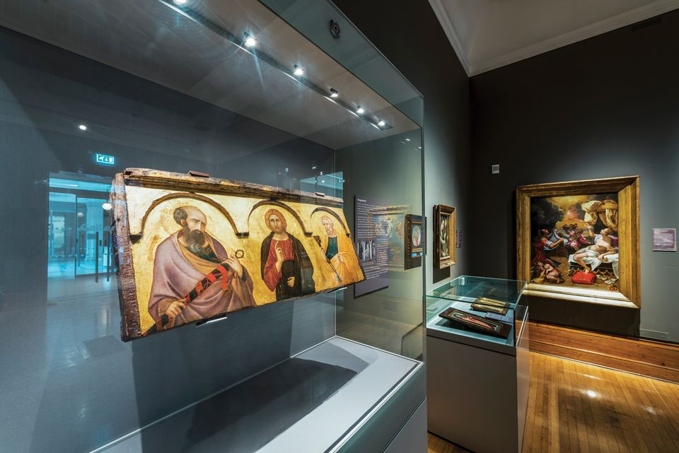 The acquisition of Pietro Lorenzetti's Christ Between Saints Peter and Paul (around 1320) further boosted footfall