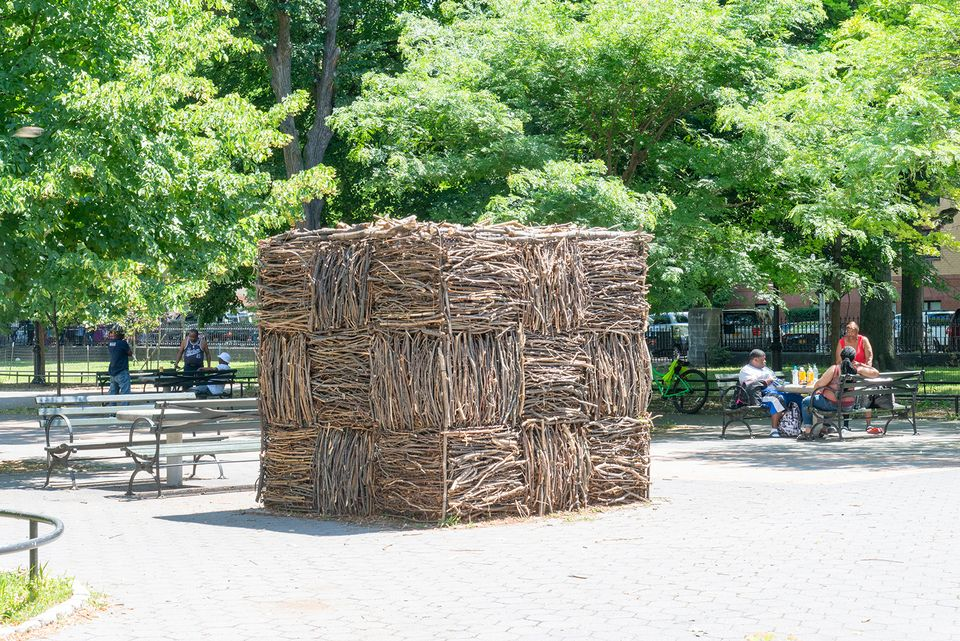 Maren Hassinger: Monuments (until 10 June 2019), organised by The Studio Museum inHarlem, at Marcus Garvey Park