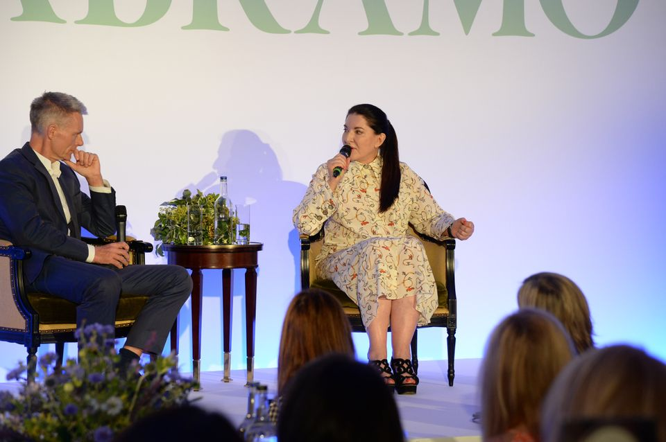 Marina Abramovic has been spending increasing amounts of time with the Royal Academy's creative director Tim Marlow