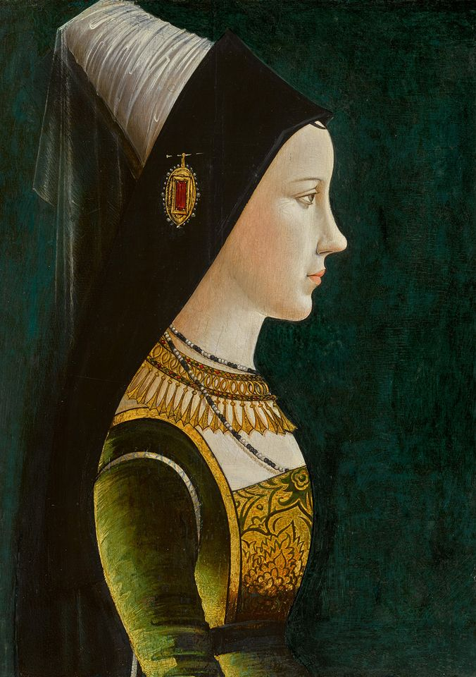 15th century Netherlandish or South German School portrait of Mary of Burgundy, sold for £1.7m (£2m with fees)