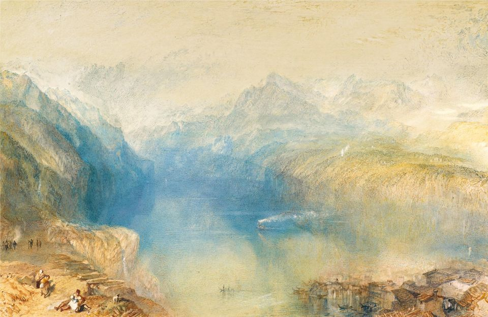 J.M.W. Turner's watercolour The Lake of Lucerne from Brunnen (1842) sold for £2m (with fees)