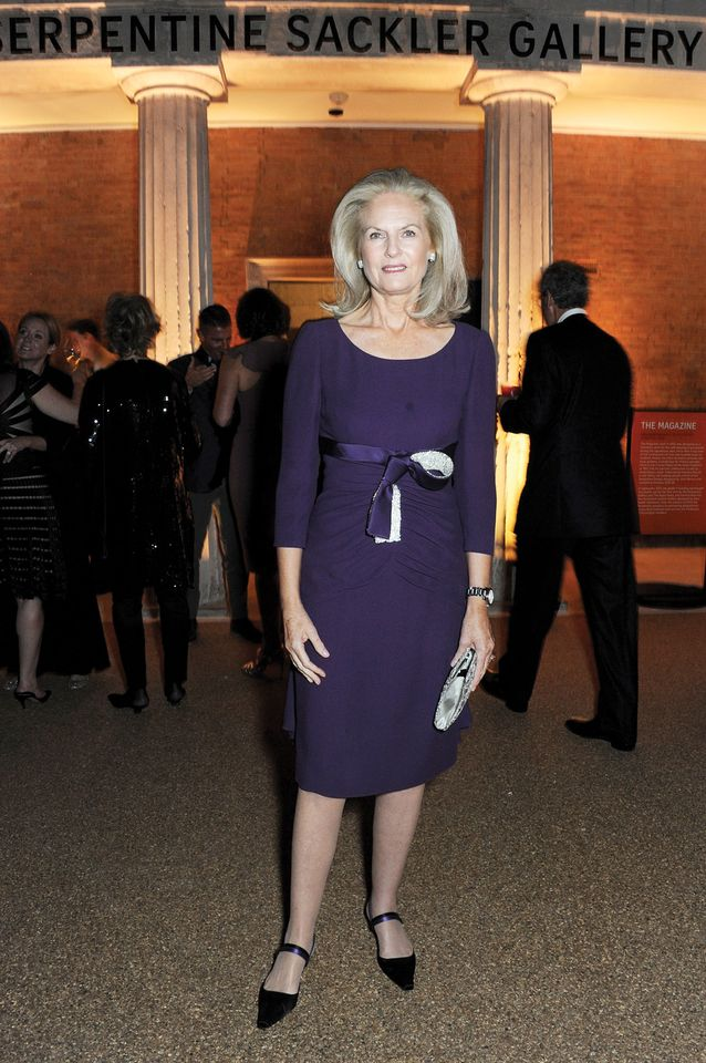 Theresa Sackler attending a donors dinner to celebrate the launch of the Serpentine Sackler Gallery in London in 2013
